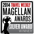 The RoamRight App won silver in the Travel Weekly Magellan Awards for Online Travel Services