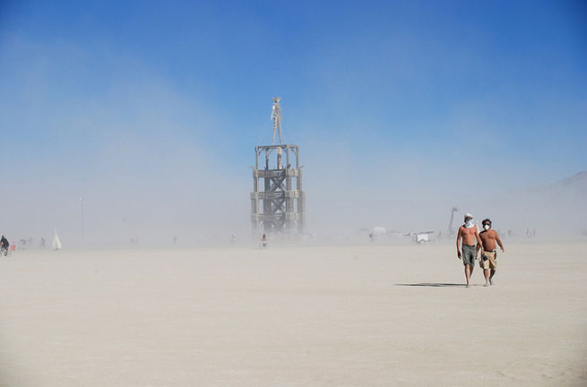 The Burning Man Festival is a unique experience that takes place in the desert each year.