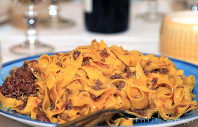 The Emilia Romagna region of Italy is known for these delicious foods.