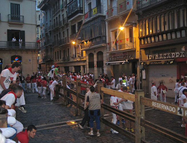 There are many festivals from which to choose when visiting Spain, including the famous Running of the Bulls in Pamplona.