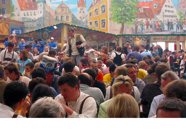 Traveling to Munich for Oktoberfest but it's your first