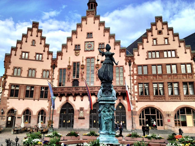 Frankfurt, Germany is usually known as a business center, but there's a lot to do for the casual tourist as well.
