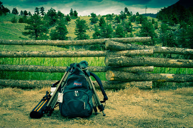 Backpacking is a popular way to travel without taking too many belongings. CT