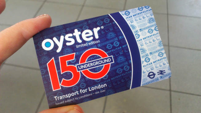 The Oyster card is a form of electronic ticketing used on public transport in Greater London in the United Kingdom. CT