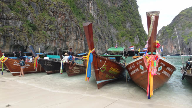 The long-tail boat is a type of watercraft native to Southeast Asia. CT