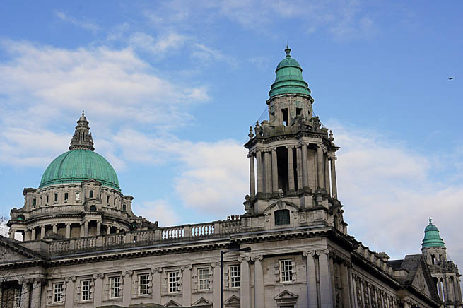 Belfast is the administrative capital and largest city of Northern Ireland. Most of Belfast is in County Antrim, but parts of East and South Belfast are in County Down. CT