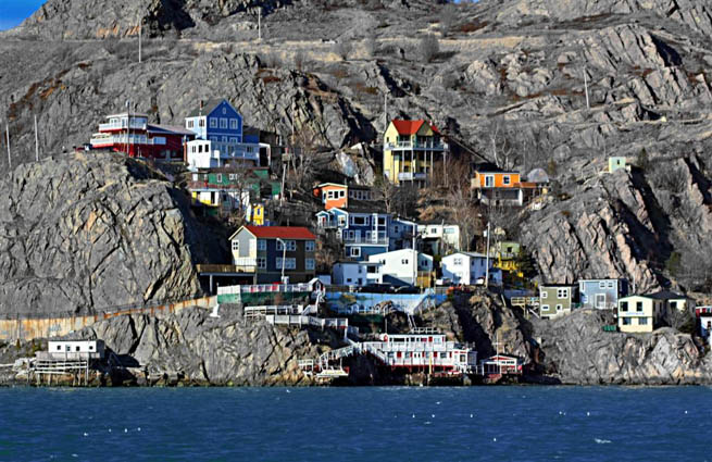 The Battery is a small neighbourhood within the city of St. John's, Newfoundland and Labrador. The Battery sits on the entrance to the harbour located on the slopes of Signal Hill. CT