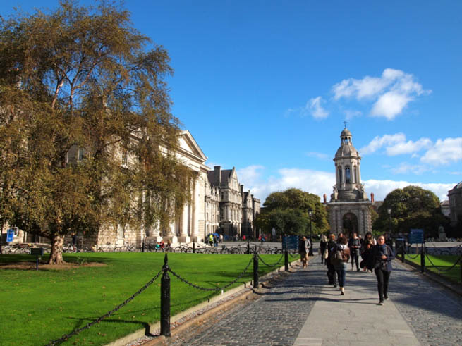 Dublin is the capital and most populous city of Ireland. CT