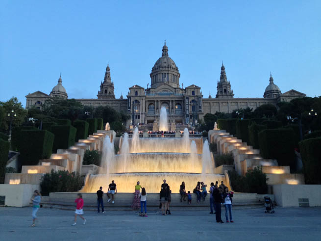 Palau Nacional, situated in Montjuïc, is a palace constructed between the years 1926 and 1929 for the 1929 International Exhibition in Barcelona. CT