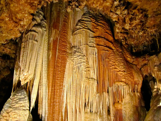 Meramec Caverns is the collective name for a 4.6-mile cavern system in the Ozarks, near Stanton, Missouri. CT