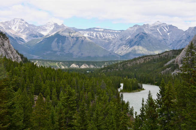 The Canadian Rockies are a great option for a getaway with just the guys.