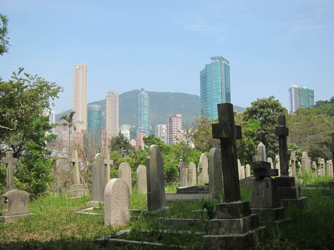 Hong Kong Cemetery, formerly Hong Kong Cemetery and before that Hong Kong Colonial Cemetery, is one of the early Christian cemeteries of Hong Kong dating to its colonial era beginning in 1845. CT