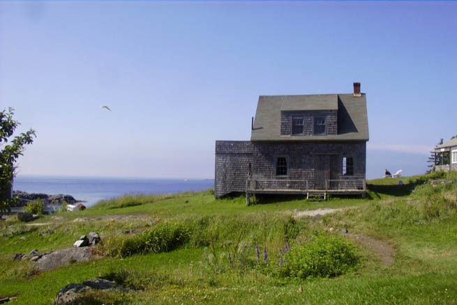 Monhegan is an island in Lincoln County, Maine, United States, about 12 nautical miles off the coast. CT