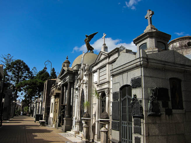 La Recoleta Cemetery is a cemetery located in the Recoleta neighbourhood of Buenos Aires, Argentina. CT