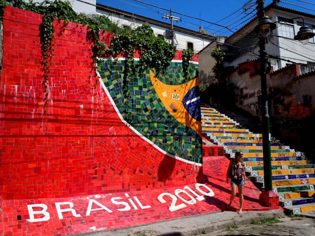 Discover a side to Rio that many may miss, through the city's beautiful urban art.