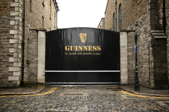 Guinness is a popular Irish dry stout that originated in the brewery of Arthur Guinness at St. James's Gate, Dublin.