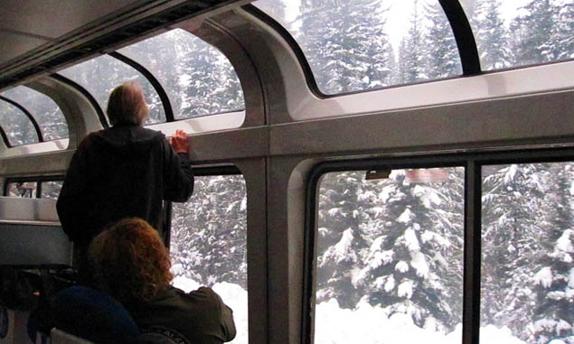 Consider an epic train train across the US for the perfect getaway.