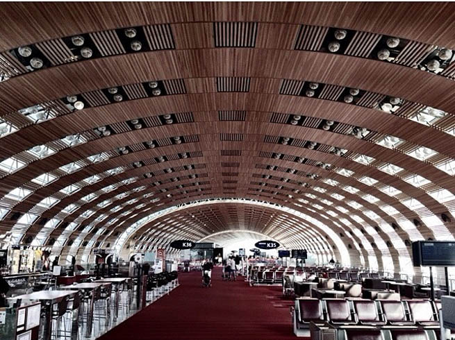 Paris Charles de Gaulle Airport, also known as Roissy Airport, is one of the world's principal aviation centres, as well as France's largest airport. CT