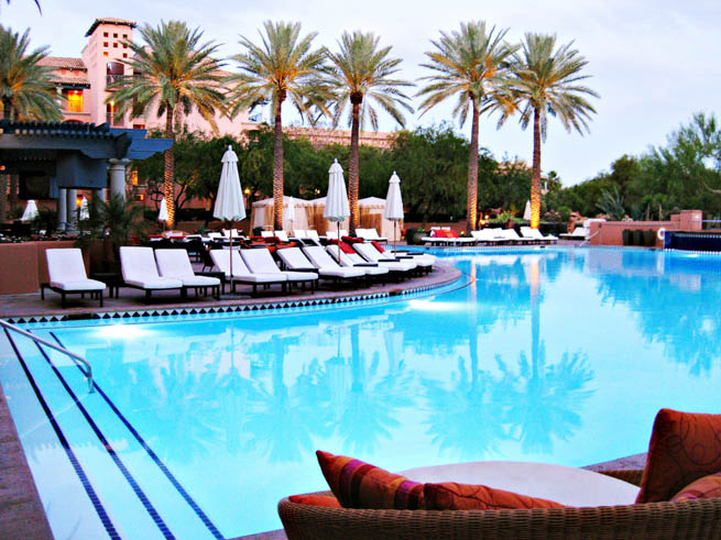 Scottsdale, Arizona has numerous spas and places to relax. Check out these options.