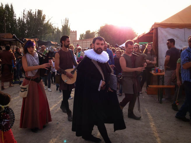 At the Semana Cervantina festival near Madrid, Don Quixote is celebrated.