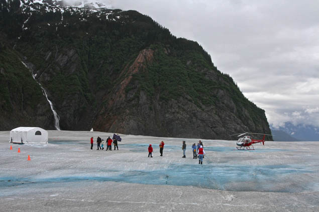 Jump into the action on your next trip to Alaska by visiting a glacier!