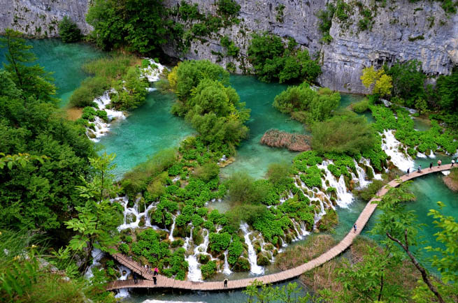 Plitvice Lakes National Park is the oldest national park in Southeast Europe and the largest national park in Croatia.