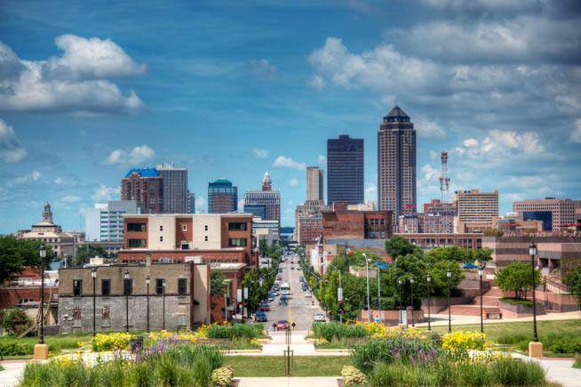 Des Moines is the capital and the most populous city in the U.S. state of Iowa