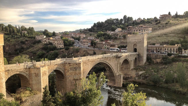 Toledo is a municipality located in central Spain CT
