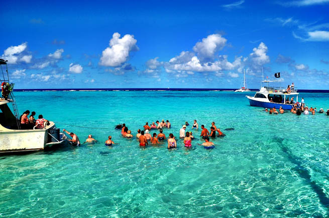 Cayman Islands are a British Overseas Territory in the western Caribbean Sea.