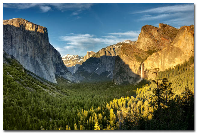Yosemite National Park is a United States National Park in California
