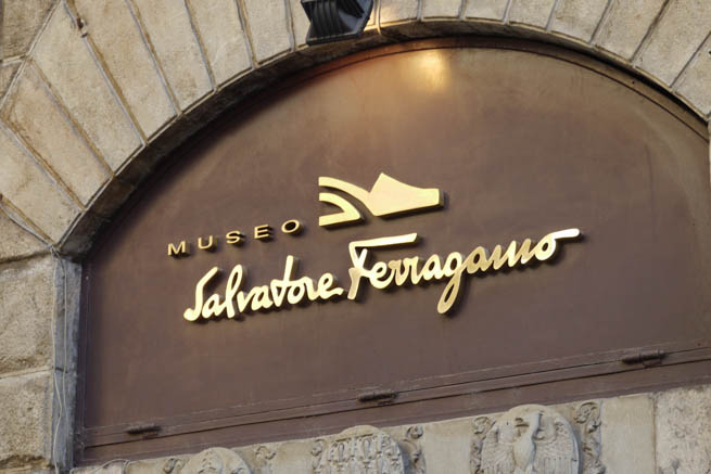 Salvatore Ferragamo Museum in Florence, Italy is a fashion museum dedicated to the life and work of Italian shoe designer Salvatore Ferragamo CT