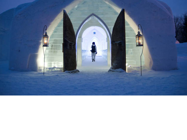 Think you're up to the challenge of sleeping in a Ice Hotel? Read this post to learn all about this chilly experience.