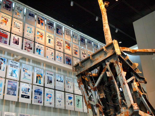 Newseum is an interactive museum of news and journalism located at 555 Pennsylvania Ave. NW, Washington, D.C CT