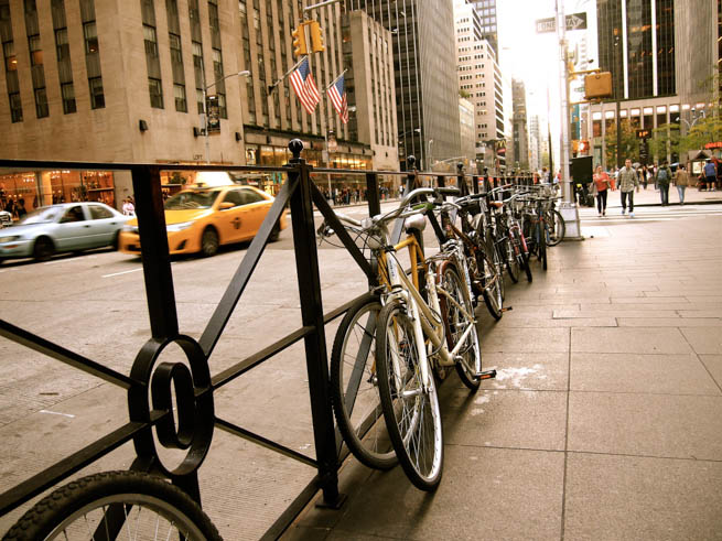 Bicycle sharing system is a service in which bicycles are made available for shared use to individuals on a very short term basis.