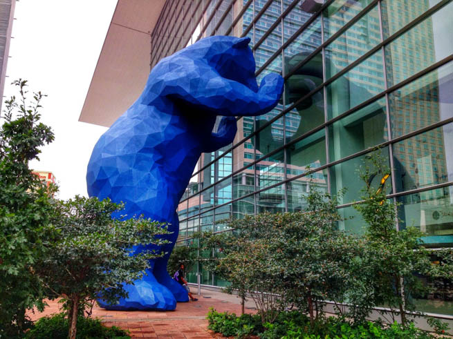 Big Blue Bear at the Denver Convention Center
