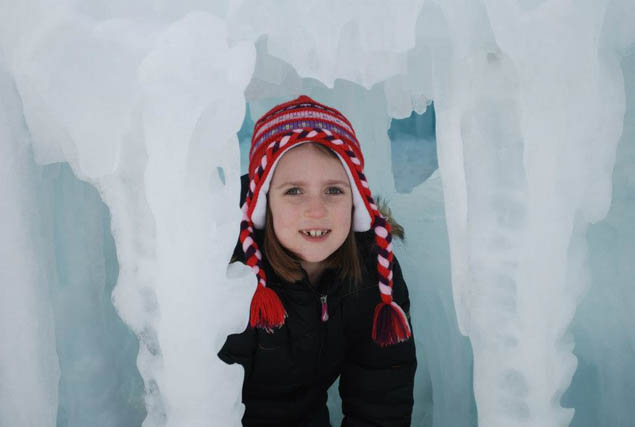 Learn all about America's great wintertime secret - the ice castles!