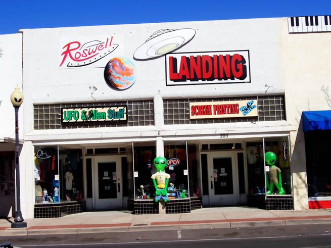 Roswell is a city in, and the county seat of, Chaves County in the southeastern quarter of the state of New Mexico CT
