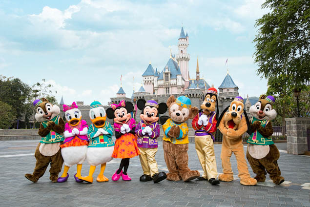 Plan a New Year's celebration unlike anything you've ever seen at Hong Kong Disneyland.