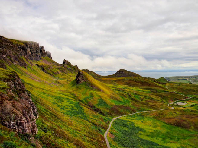 Skye or the Isle of Skye is the largest and most northerly large island in the Inner Hebrides of Scotland