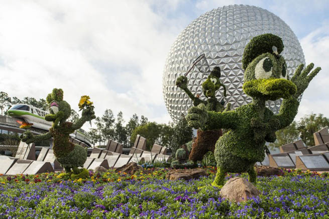 Epcot is the second of four theme parks built at Walt Disney World in Bay Lake, Florida