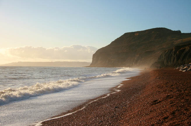 Jurassic Coast is a World Heritage Site on the English Channel coast of southern England