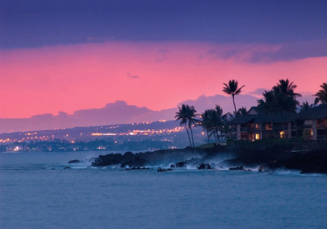 Watching the sunset in Hawaii is a great activity for a trip to the islands CT