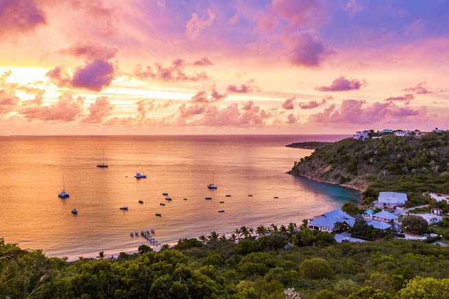 Anguilla is a British overseas territory in the Caribbean. CT