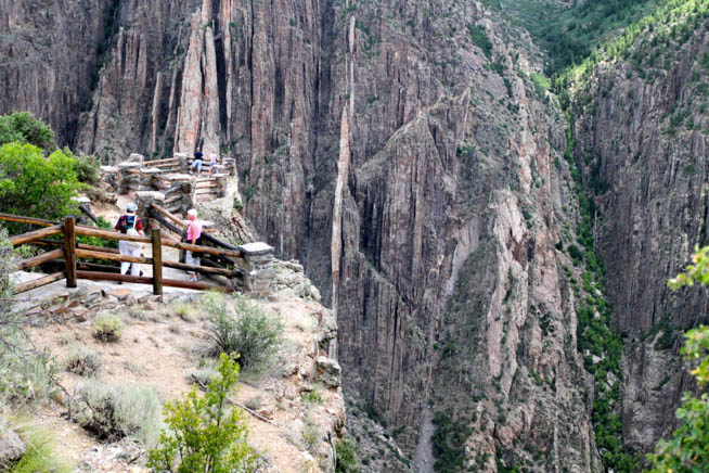 Black Canyon of the Gunnison National Park is a United States National Park located in western Colorado CT