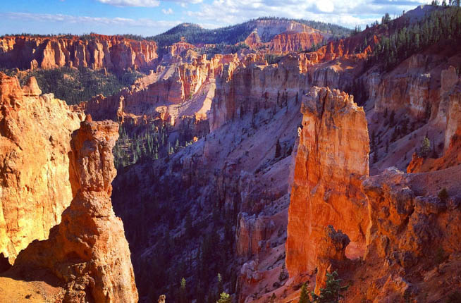 Bryce Canyon National Park is a National Park located in southwestern Utah CT