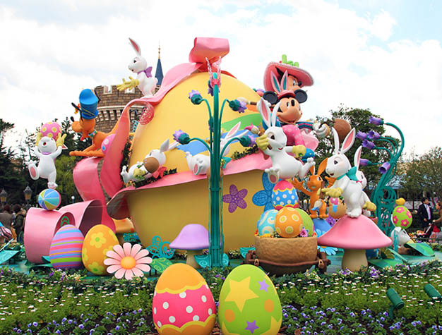 Plan the Easter celebration of a lifetime by spending it at Tokyo Disney.