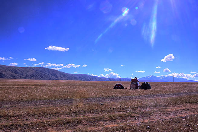 Mongolia is a landlocked country in east-central Asia CT