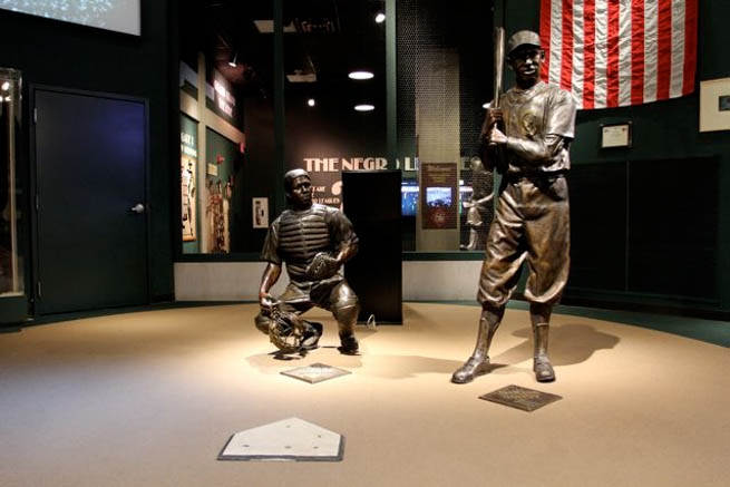 Negro Leagues Baseball Museum was founded in 1990 in Kansas City, Missouri CT
