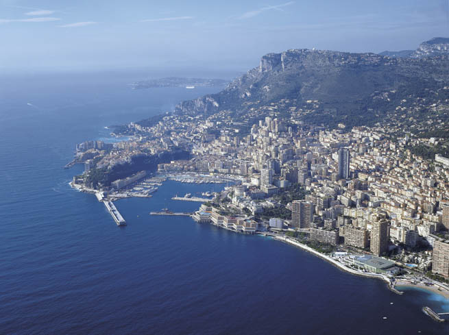 Monaco is an independent microstate on France's Mediterranean coastline