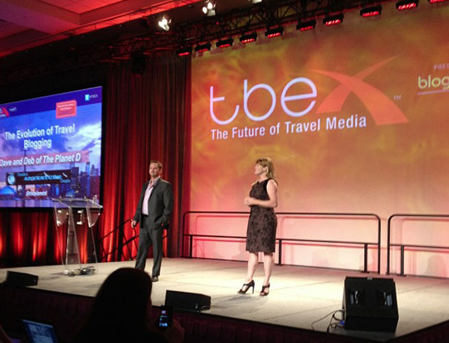 The Travel Blogger's Exchange (TBEX) will happen in October.